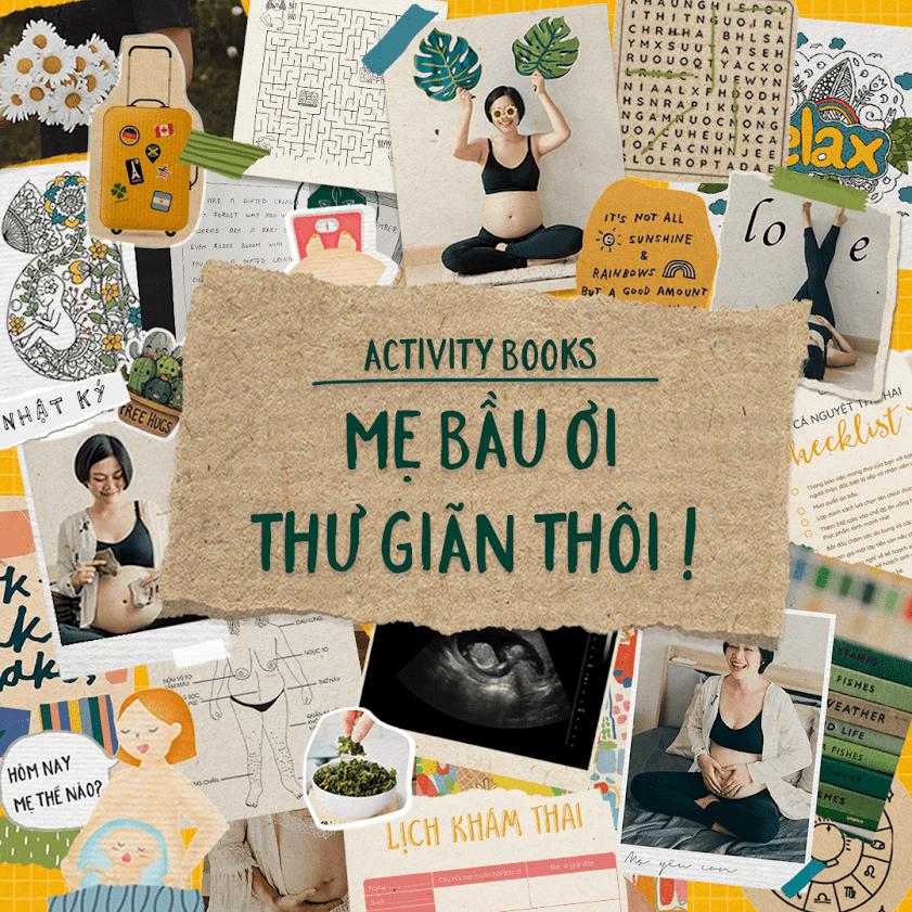 [A116] Mẹ Bầu Zui: Sách thai giáo giúp Mẹ thư giãn, con phát triển tốt