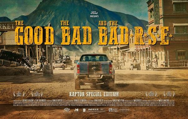 Ford Ranger Raptor Special Edition western