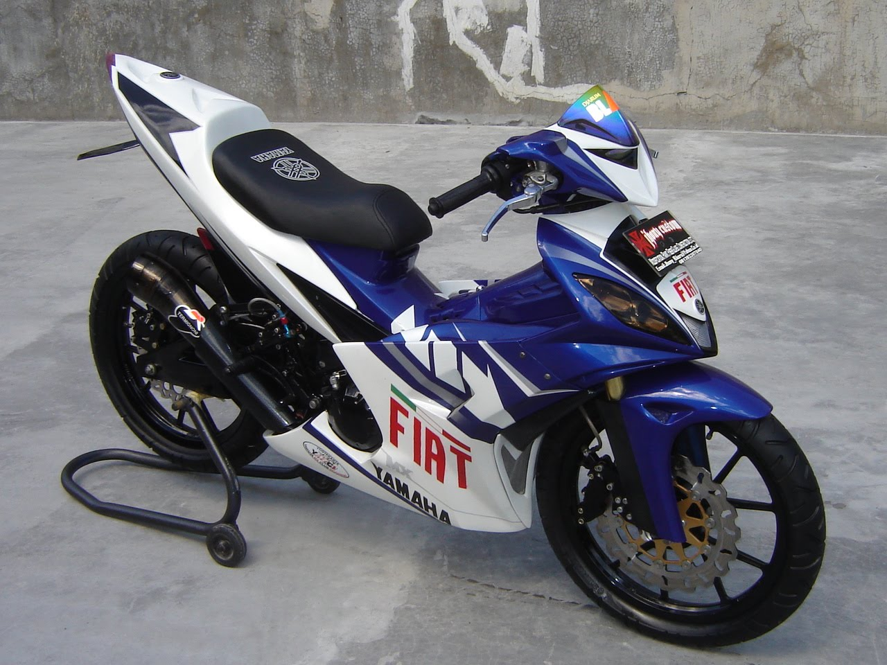 Gambargambar modifikasi sepeda motor Paling Keren dan