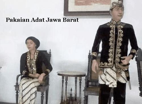 Gambar pakaian adat jawa barat