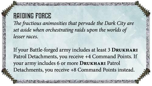 ejércitos Veteranos Drukhari