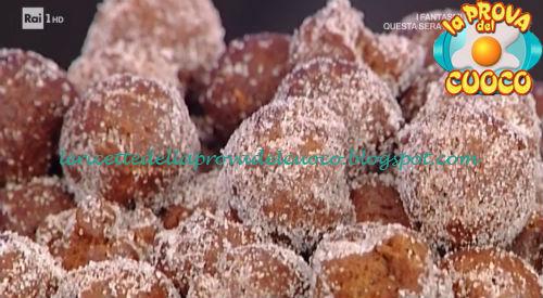Castagnole ricche al cacao ricetta Cattelani da Prova del Cuoco