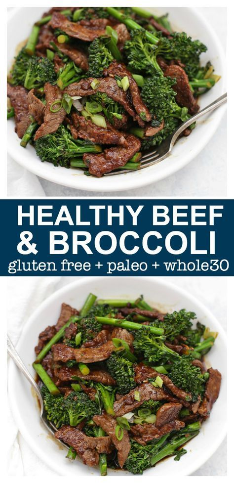 Healthy Beef And Broccoli