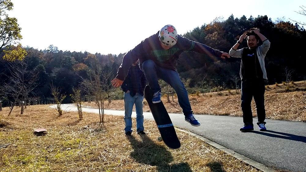 三重のロンスケ仙人USKの本拠地へ泊まりでスケートセッション