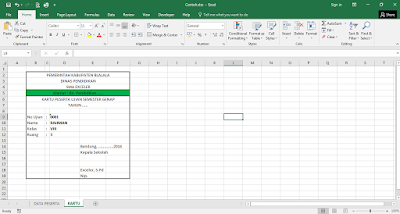 contoh fungsi hlookup excel
