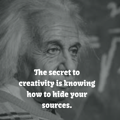 Albert Einstein Inspirational Quote about creativity
