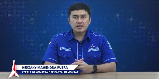 Jawab Eks Tenaga Ahli KSP, Herzaky: Prestasi Moeldoko Itu Apa, Kok Mau Ambil Alih Partai Demokrat?