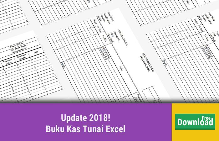 Buku Kas Tunai Excel