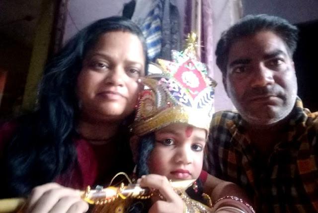 जन्माष्टमी समारोह में 'कान्हा' बना आसिफ - newsonfloor.com