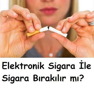 Elektronik Sigara İle Sigara Bırakılır mı