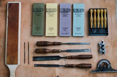 Knife, Chisels and Gouges Sharpening