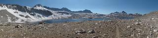 Wanda Lake und die eindrucksvolle Goddard Divide