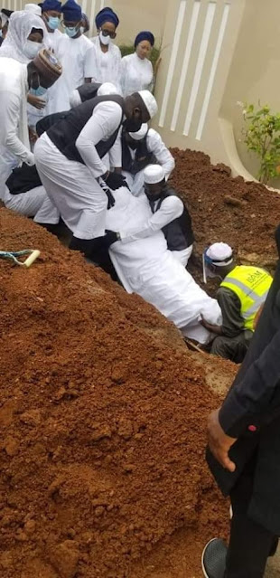 Photos Of Ex-Governor Abiola Ajimobi Being Laid To Rest In Ibadan