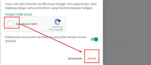 Cara Import Dan Export Data Blog Untuk pemula
