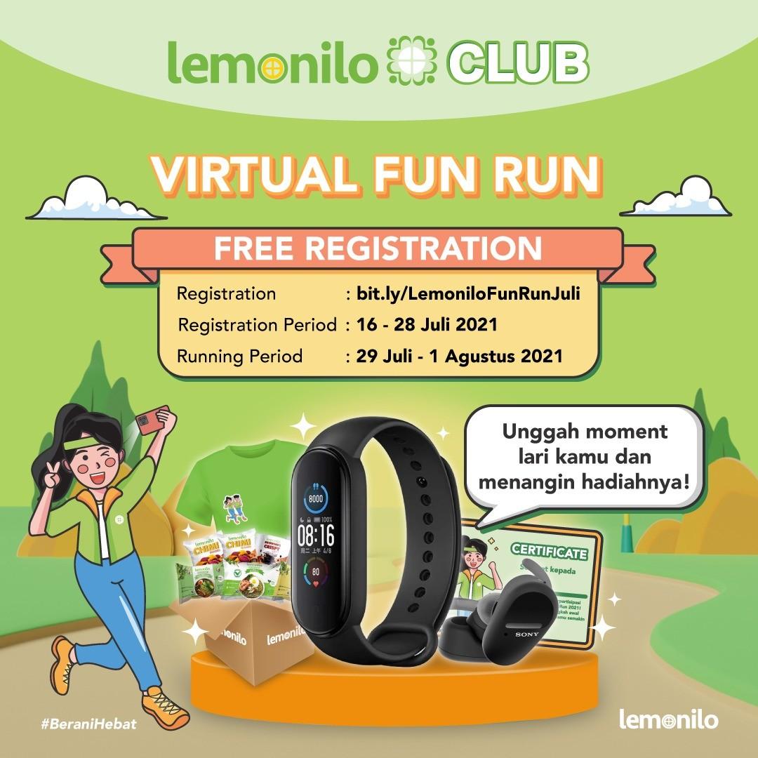 Lemonilo Virtual Fun Run - Juli • 2021