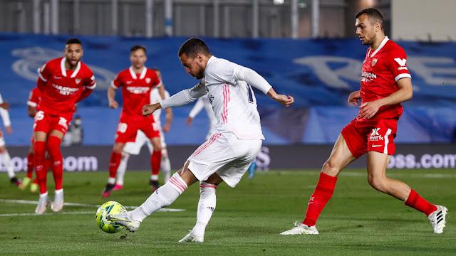 حكم آس| ضربة جزاء إشبيلية أمام ريال مدريد صحيحة وفق اللوائح الحالية