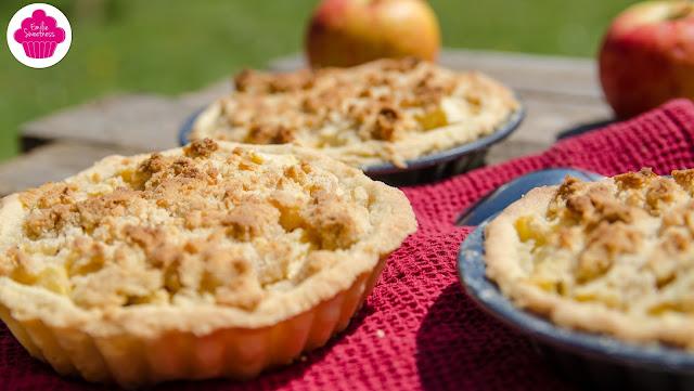 Tartelettes crumble aux pommes