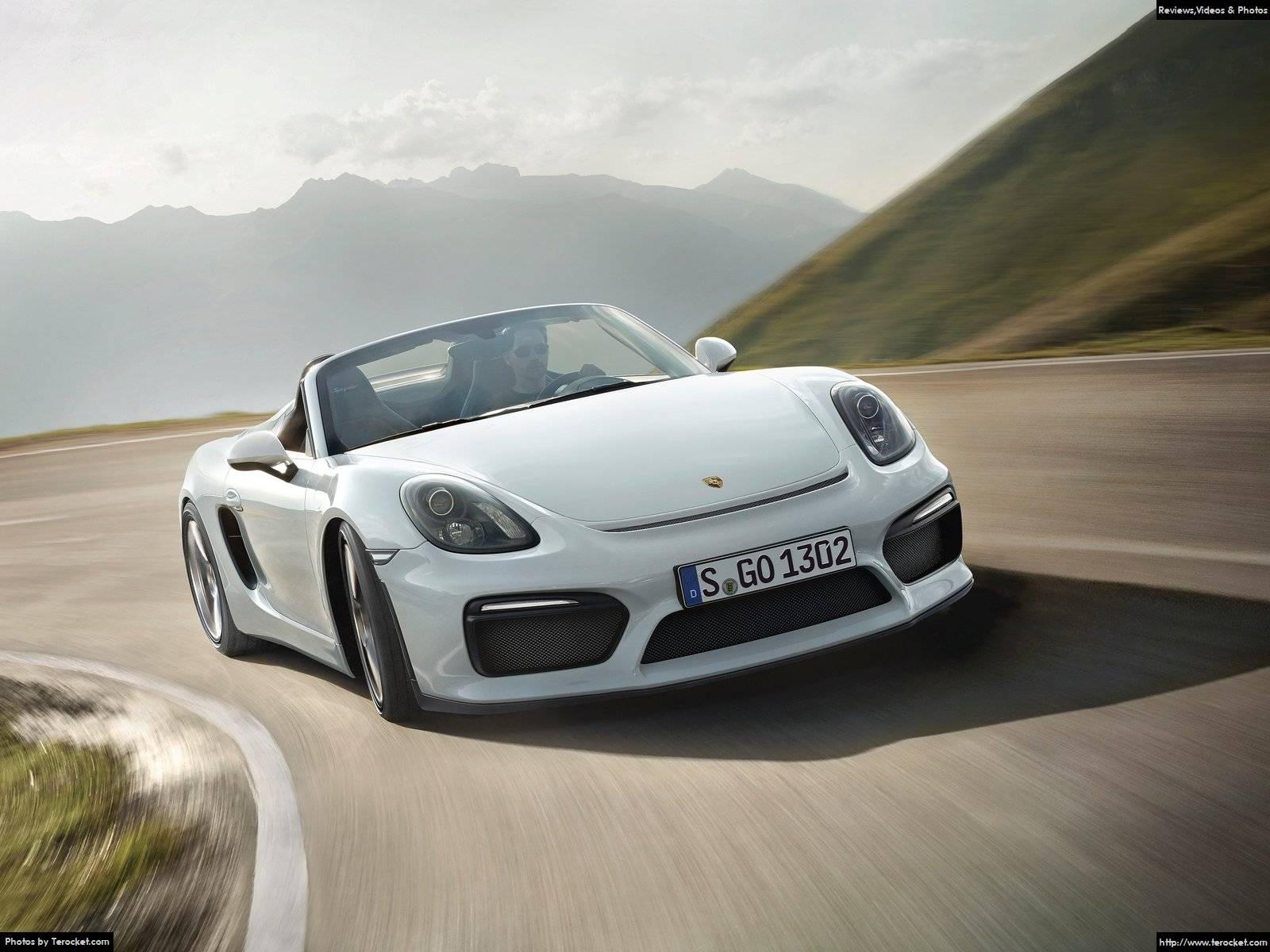Hình ảnh xe ô tô Porsche Boxster Spyder 2016 & nội ngoại thất