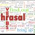 الآفعال المركبة في اللغة الإنجليزية  Phrasal verbs