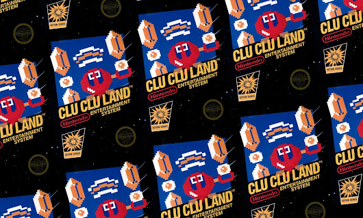 REVIEW: Clu Clu Land (NES)