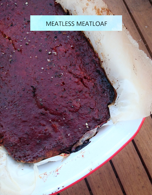 sweetly, mel: Meatless Meatloaf