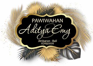 07092020 PAWIWAHAN ADITYA DAN EMY AT JIMBARAN - BALI