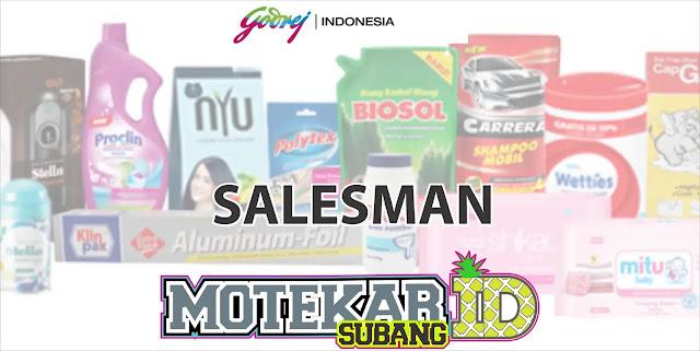 Info Lowongan Pekerjaan Sales Godrej Cabang Subang 2019