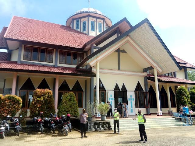 Perayaan Paskah Jumat Agung 2021, Polres Sekadau Lakukan Pengamanan Ketat