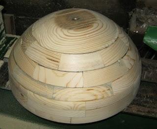 готовая форма из дерева