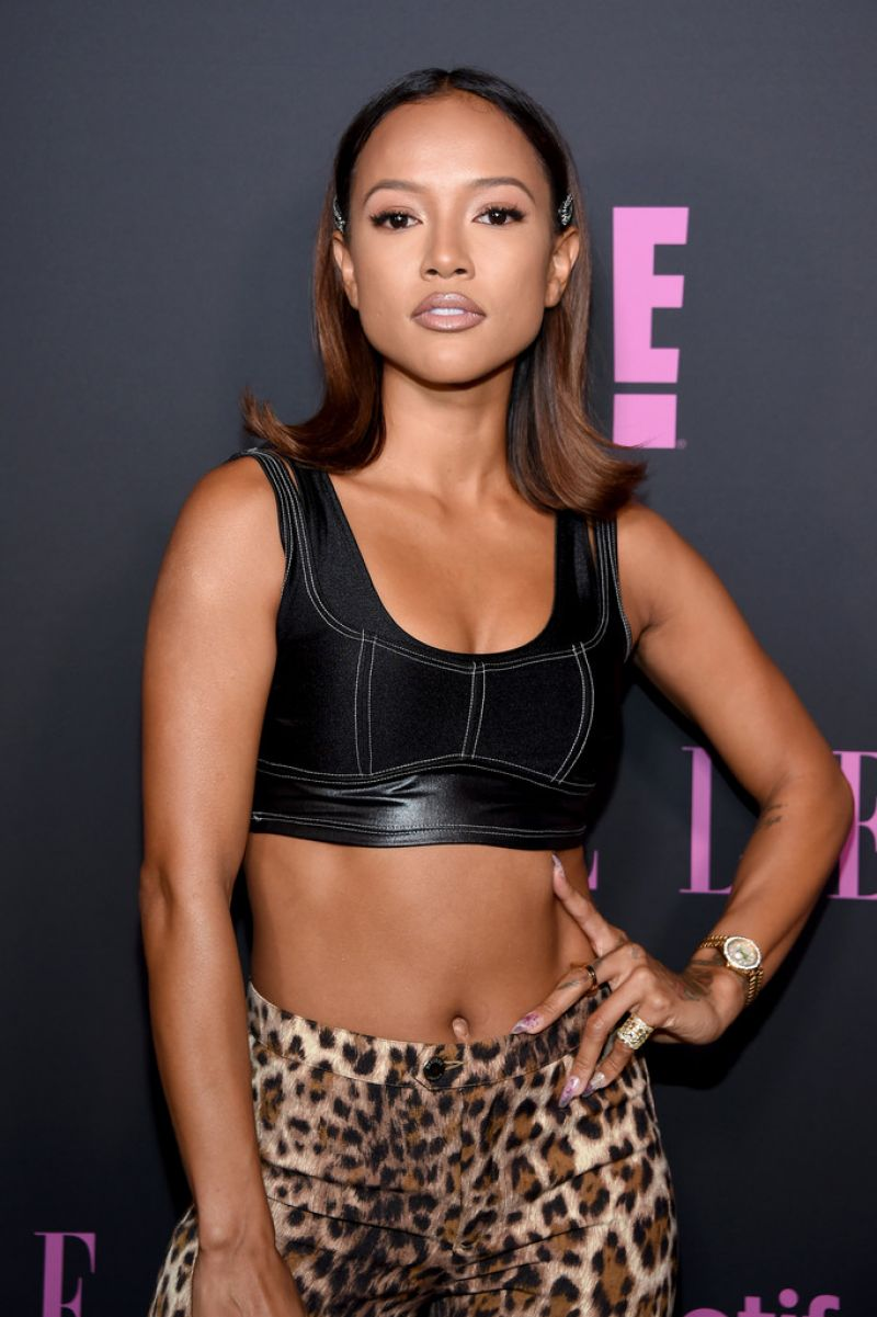 Karrueche Tran Clicks at Elle Women in Music in New York 5 Sep-2019