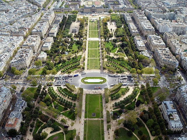 giardino-campo di Marte-Parigi