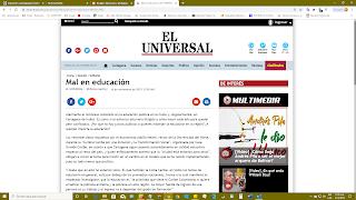 Cartagena de Indias y la Costa Caribe muy mal en educación