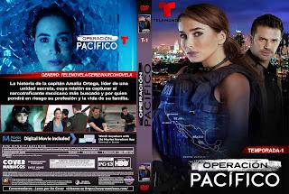 CARATULA OPERACION PACIFICO 1 TEMPORADA 2020[COVER DVD]