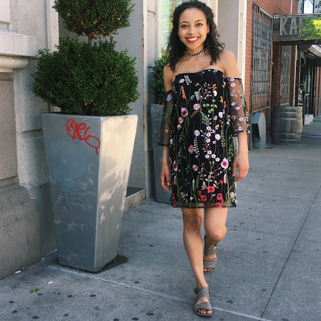 Cold Shoulder Dress Review