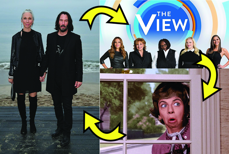 Opinion: The View, Keanu and the Yenta-fication of America