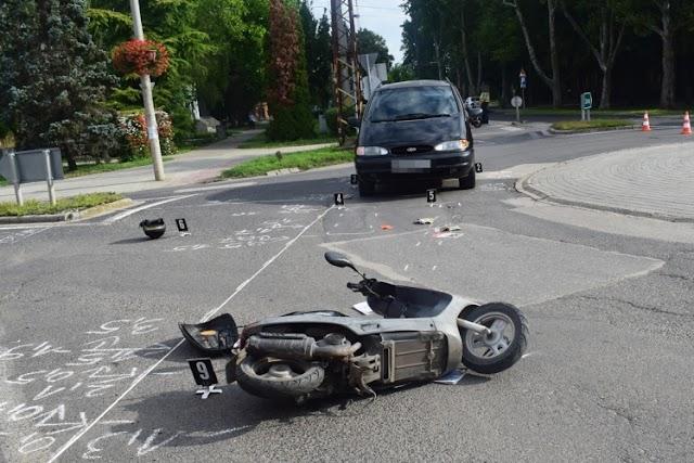 Közlekedési baleset történt Nagyszénáson, őrizetbevétel Szarvason
