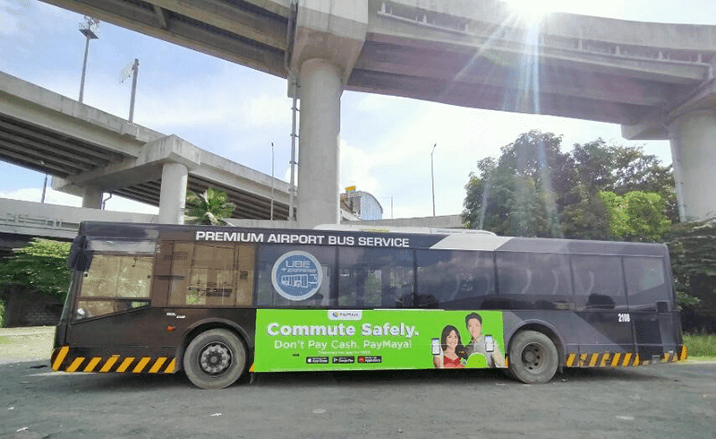 UBE Express passengers can now use PayMaya for cashless payments