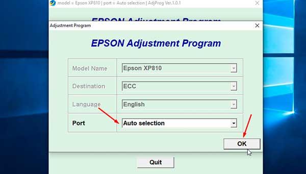 Reset Gratis Free Epson Xp 810