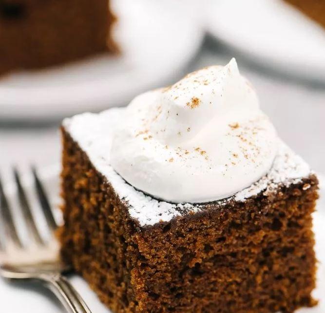GINGERBREAD CAKE IN OLIVE OIL