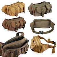Military messenger bag small