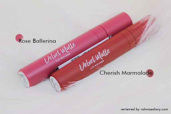 Wardah Colorfit Velvet Matte Lip Mousse