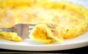 بيض اومليت بالبارميزان