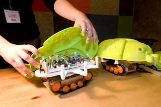 Laura's robot: the Luna Moth Bot