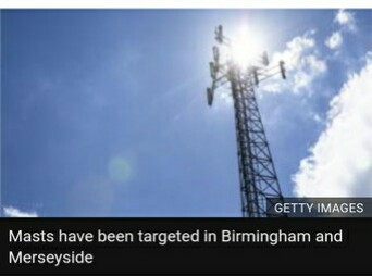 Mast Vandalized In UK Over 5G Coronavirus Claims