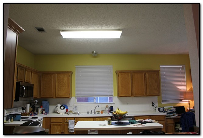 Replace Fluorescent Light Fixture In Kitchen Design Home Kitchen - Replace fluorescent light in kitchen