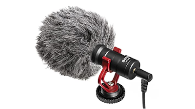 Boya Video Microphone Universal Compact on-Camera Mini Recording Mic