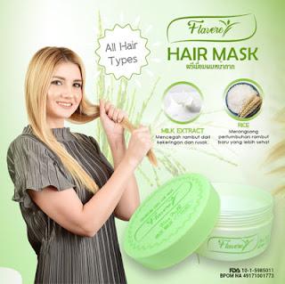 Masker Rambut Alami Fruit Flavere All Varian Asli Thailand