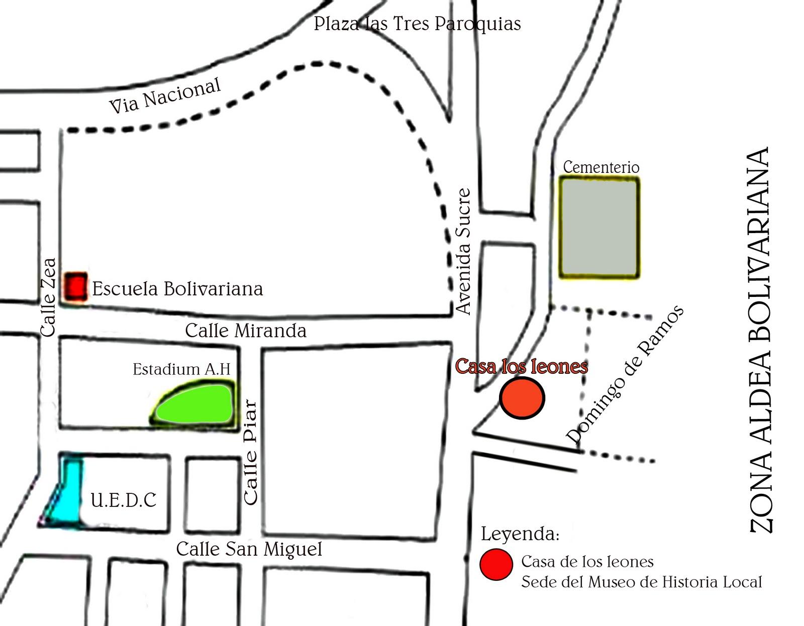 Localización De Una Casa En El Mapa: PROYECTOS PRODUCTIVOS Y CULTURALES: PROYECTO PARA FUNDAR