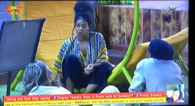 "#BBNaija: ""They Beg Me To Press Their Nipple At Night"" - Venita Claims (VIDEO)"