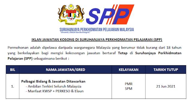spp jawatan kosong baru
